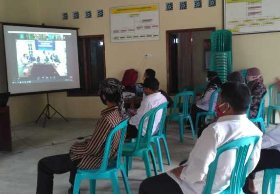 Virtual Meeting Studi EHRA Program Sanitasi